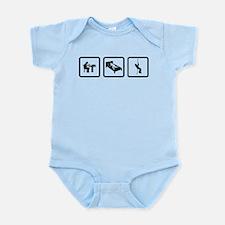 Abseiling Infant Bodysuit