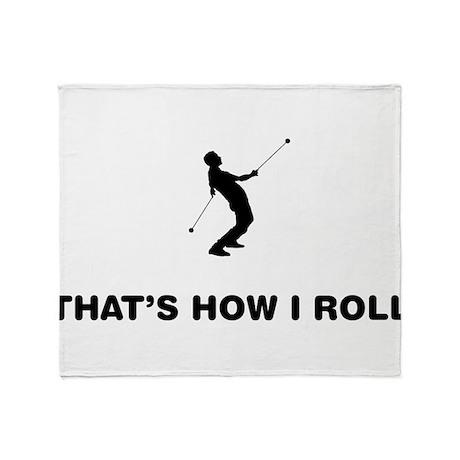 Yo-Yo Throw Blanket