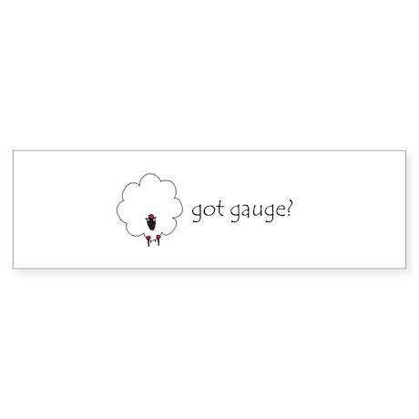 Got gauge?