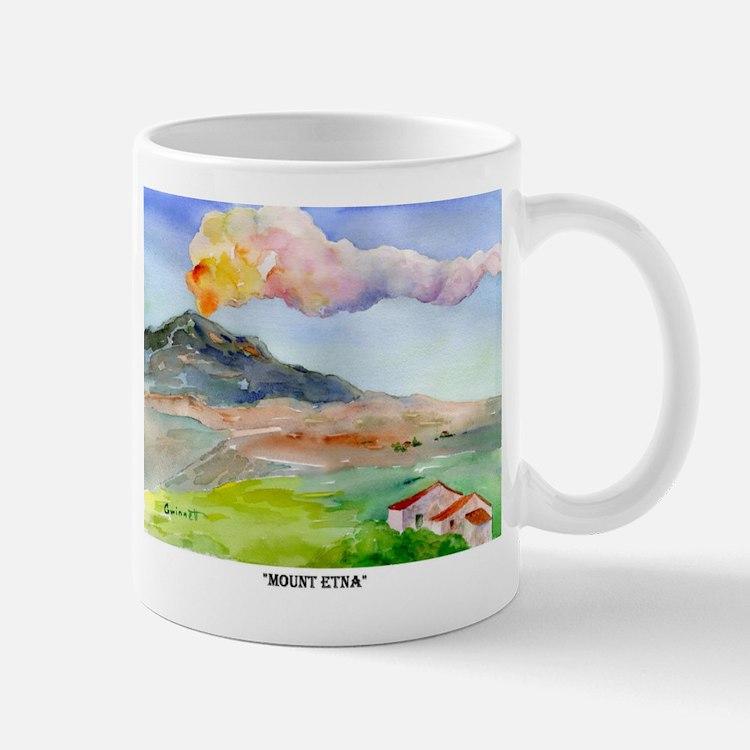 Mt Etna Sicily Mug