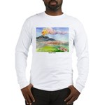 Mt Etna Sicily Long Sleeve T-Shirt
