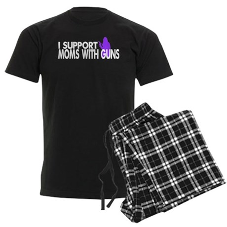 Moms With Guns Support Men's Dark Pajamas