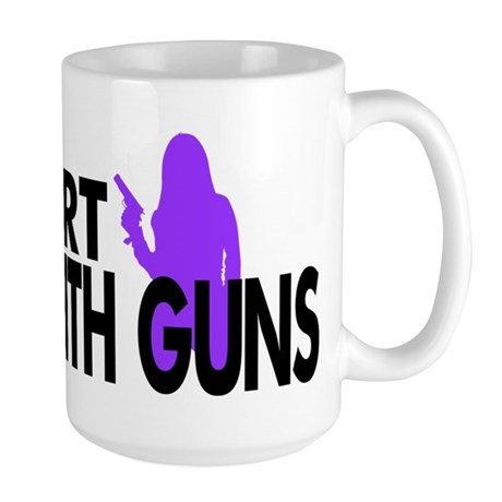 Moms With Guns Support Large Mug