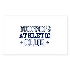 Quinton Rectangle Decal