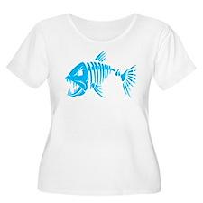 Pirate fish Plus Size T-Shirt
