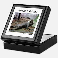 Ahh Friday Keepsake Box