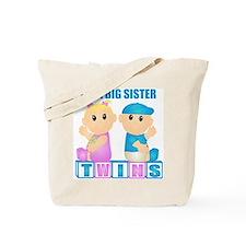 I'm A Big Sister (BBG:blk) Tote Bag