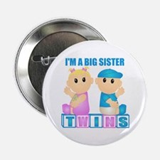 I'm A Big Sister (BBG:blk) Button