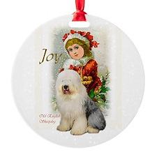 Old English Sheepdog Ornament