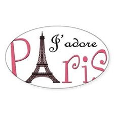 J'adore Paris! Decal