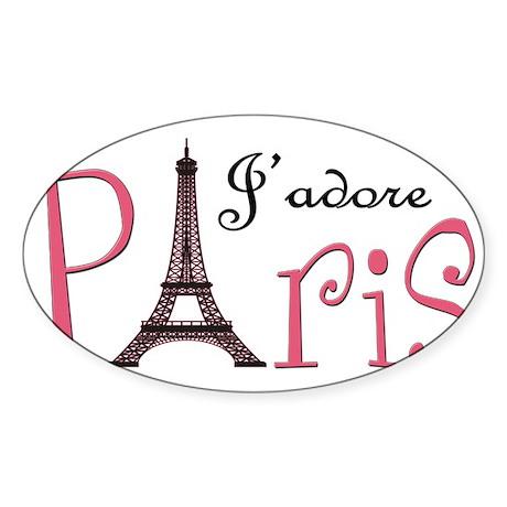 J'adore Paris! Sticker