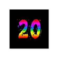 Confetti Rainbow 20 Sticker