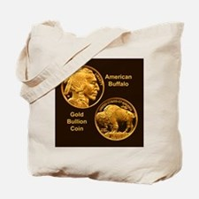 American Buffalo Gold Coin Tote Bag