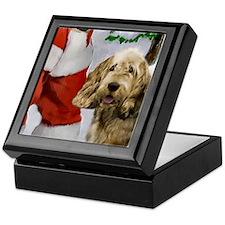 Otterhound Christmas Keepsake Box