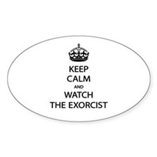 Keep Calm Watch Exorcist Decal