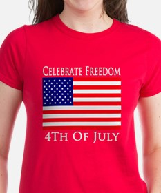 Celebrate Freedom 4th of July Tee