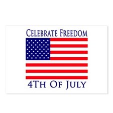 Celebrate Freedom 4th of July Postcards (Package o