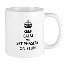 Keep Calm Phaser Stun Mug