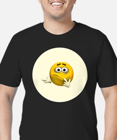 Confused Emoticon T-Shirt