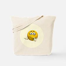 Confused Emoticon Tote Bag