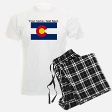 Custom Colorado State Flag Pajamas