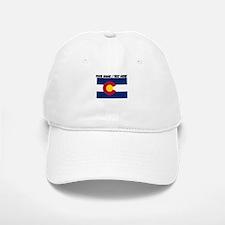 Custom Colorado State Flag Baseball Baseball Baseball Cap