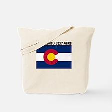 Custom Colorado State Flag Tote Bag