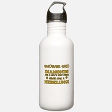 Funny Nebelung designs Water Bottle