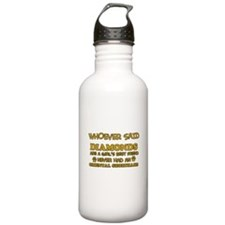 Funny Oriental Shorthair designs Sports Water Bottle