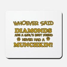 Funny Munchkin designs Mousepad