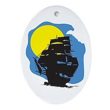Mayflower Oval Ornament