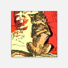 Grumpy Mr Fox Sticker