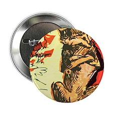 "Grumpy Mr Fox 2.25"" Button"