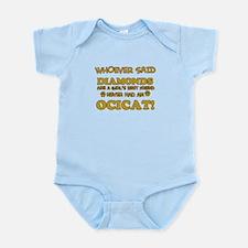 Funny Ocicat designs Infant Bodysuit