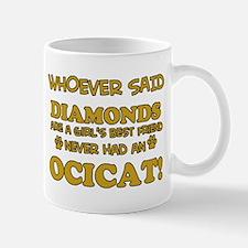 Funny Ocicat designs Mug