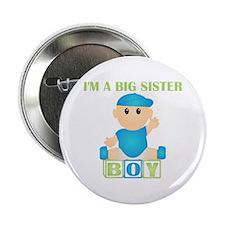 I'm A Big Sister (BB:blk) Button