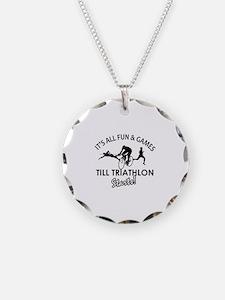 Triathlon gear and merchandise Necklace