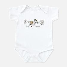Playful Fox Terrier Infant Bodysuit