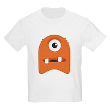 Orange Cyclops Blob T-Shirt