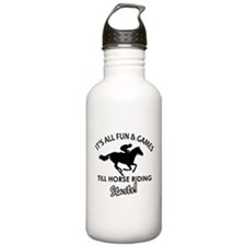 Horse Riding gear and merchandise Water Bottle