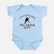 Salsa gear and merchandise Infant Bodysuit