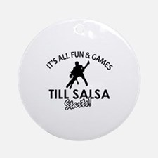 Salsa gear and merchandise Ornament (Round)