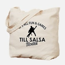 Salsa gear and merchandise Tote Bag