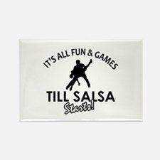 Salsa gear and merchandise Rectangle Magnet