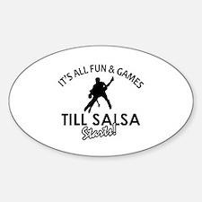 Salsa gear and merchandise Decal