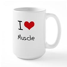I Love Muscle Mug