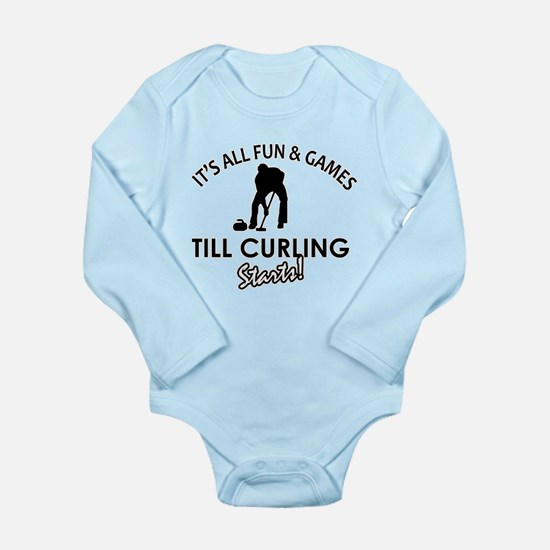 Curling gear and merchandise Long Sleeve Infant Bo