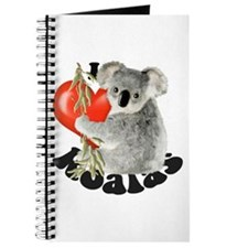 I Love Koalas Journal