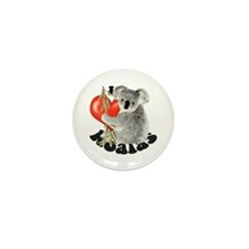 I Love Koalas Mini Button (10 pack)