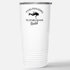 Scuba Diving gear and merchandise Travel Mug